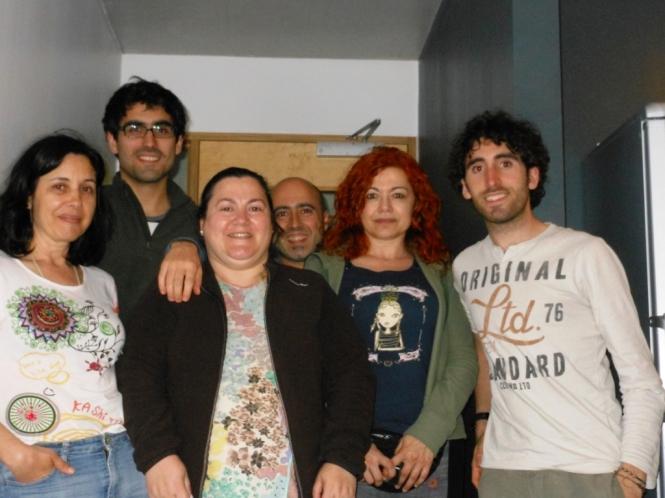 2013, 07, 07 - Reykjavik - Mario, Rafa y los Asturianos