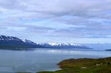 Conduciendo hacia Akureyri