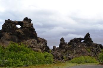 Bosque de Lava Dimmuborgir