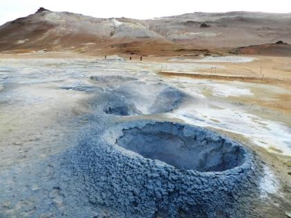 Hverir - Minicráteres