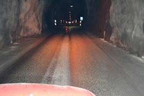 2013-07-Siglufjordur-Single-Lane-Tunel