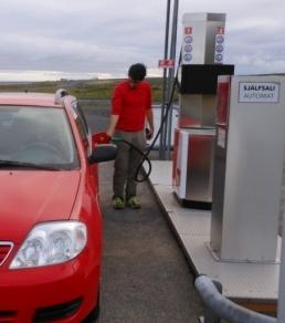 Gasolineras peopleless
