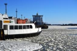 Mar Báltico Congelado