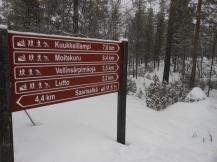 Distintas rutas del parque
