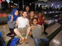 Mis amigos del tren de Bandung
