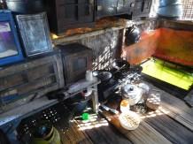 Ciudad Flotante de Cianjur - Cocina de una de las casas