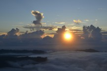 Amanecer en Gunung Batur
