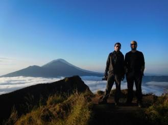 Inicio del descenso de Gunung Batur