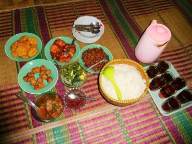Comida tradicional de la zona de Cianjur