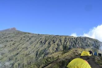 Trekking del Gunung Rinjani - Cráter