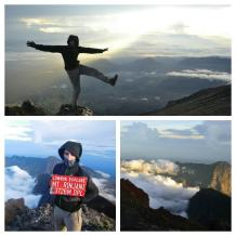 Trekking del Gunung Rinjani - Cima
