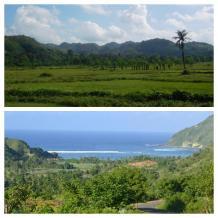 Conduciendo por la tranquila Lombok
