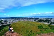 Edimburgo - Vistas desde Arthur's Seat