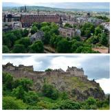 Edimburgo - Vistas desde y del Castillo