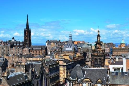 Edimburgo y sus tejados