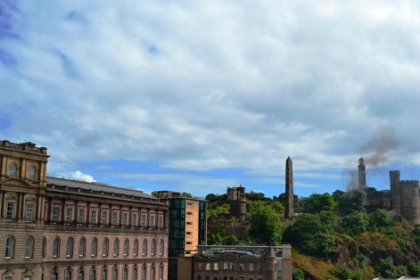 Edimburgo - Calton Hill desde North Bridge