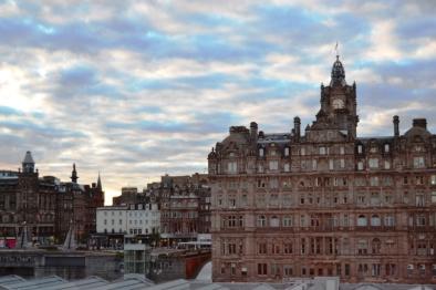 Edimburgo - Princes Street - Balmoral Hotel