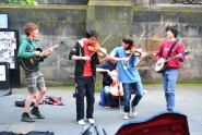 Edimburgo - Música en la calle