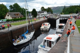 Fort Augustus - Canal de Caledonia