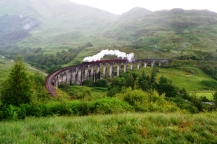 Fort William - Glenfinnan Viaduct - Tren Harry Potter