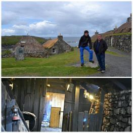 Outer Hebrides - Arnol & Gearrannan Blackhouses