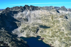 Vistas desde el Pico de Ratera (2862 m)