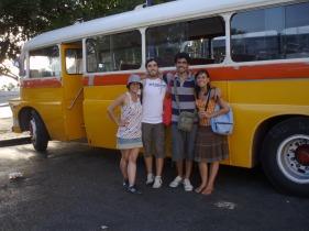 La Valletta - Autobús Maltés