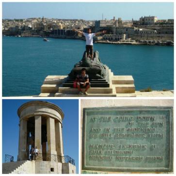 La Valletta - Monumento al Asedio