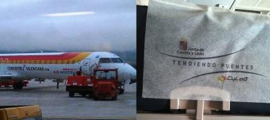 Avión del Infierno en Pamplona