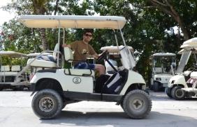 Eleuthera - Carrito de Golf