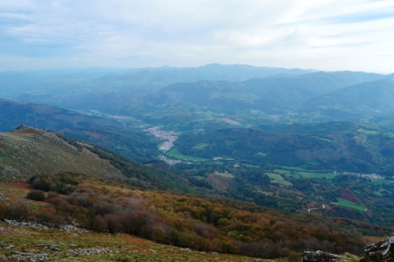 Vistas desde la cima del Mendaur