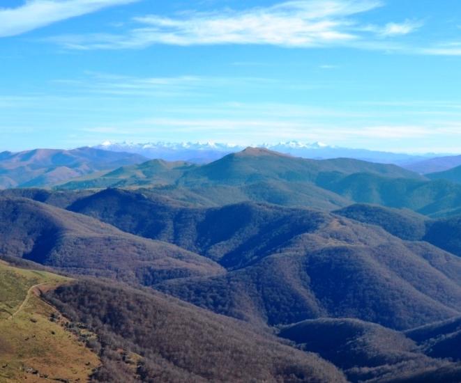Vistas de Los Pirineos