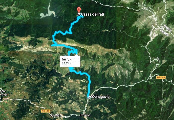 Mapa Selva De Irati.2015 10 Selva De Irati Ruta Casas Irati Mapa 1 Con Limite