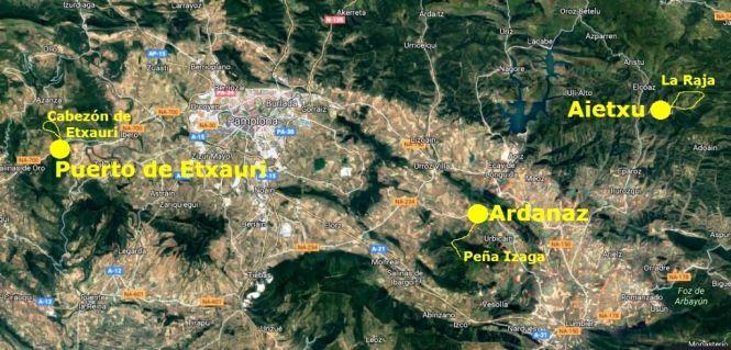 2016-04-tres-rutas-cuenca-pamplona-mapa