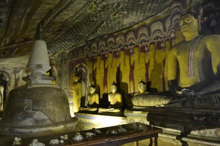 Cueva IV de Dambulla