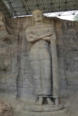 Polonnaruwa - Gal Vihara - Buda de Pie