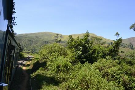 Viajando en tren Kandy-Hatton