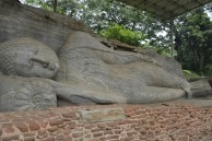 Polonnaruwa - Gal Vihara - Buda Tumbado