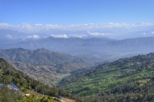 Vistas de Langtang desde Dhulikhel
