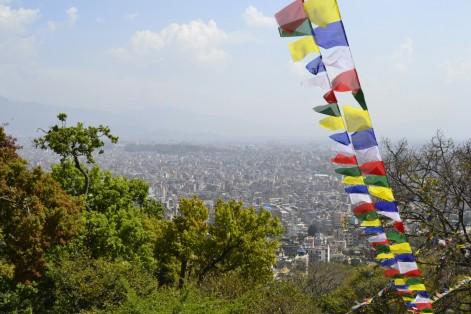 Swayambhunath - Vistas