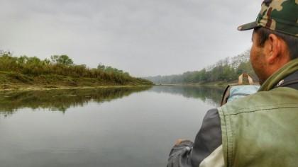 Chitwan - Viaje en Canoa