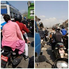 Caos en Kathmandu