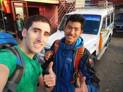 Inicio Trekking Langtang-Gosaikunda-Helambu