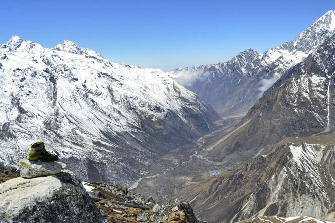 2017-03-nepal-Trekking-LGH-Dia-4-Tsergo-Ri-cima-langtang-kyanjin-bota