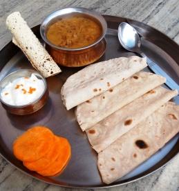 Chapati con Dal