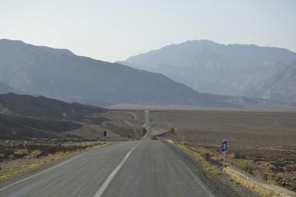 Camino al Desierto de los Kaluts