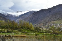 Valle de Alamut - Lago Evan