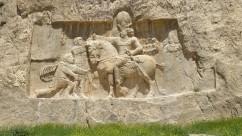 Naqsh-e Rostam - Triunfo Shapur I