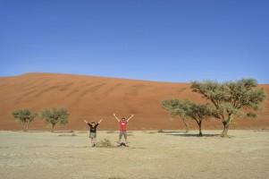 Deadvlei en el Parque de Namib-Naukluft