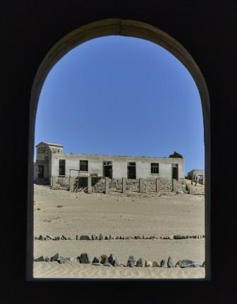 Kolmanskop - Vistas desde la Casa del Carnicero